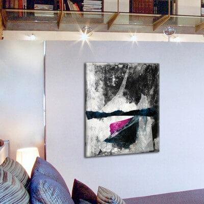 cuadros modernos abstracto pensamiento compartido II