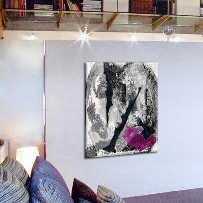 Abstract painting sharing thinking I