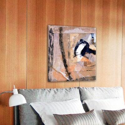 cuadro moderno abstracto certeza