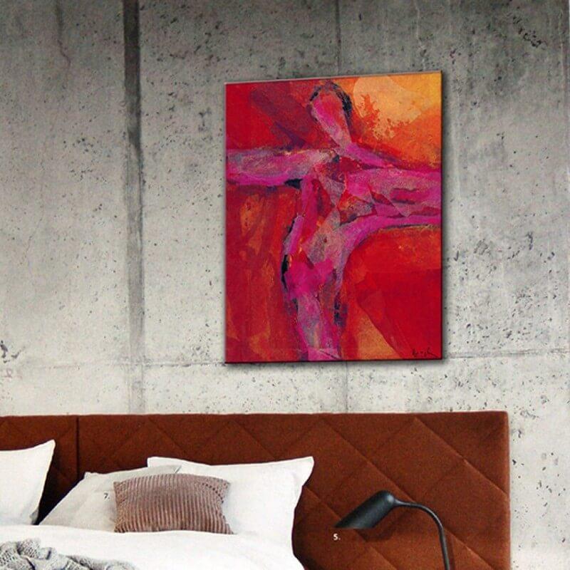 cuadros modernos figurativos-punto de equilibrio