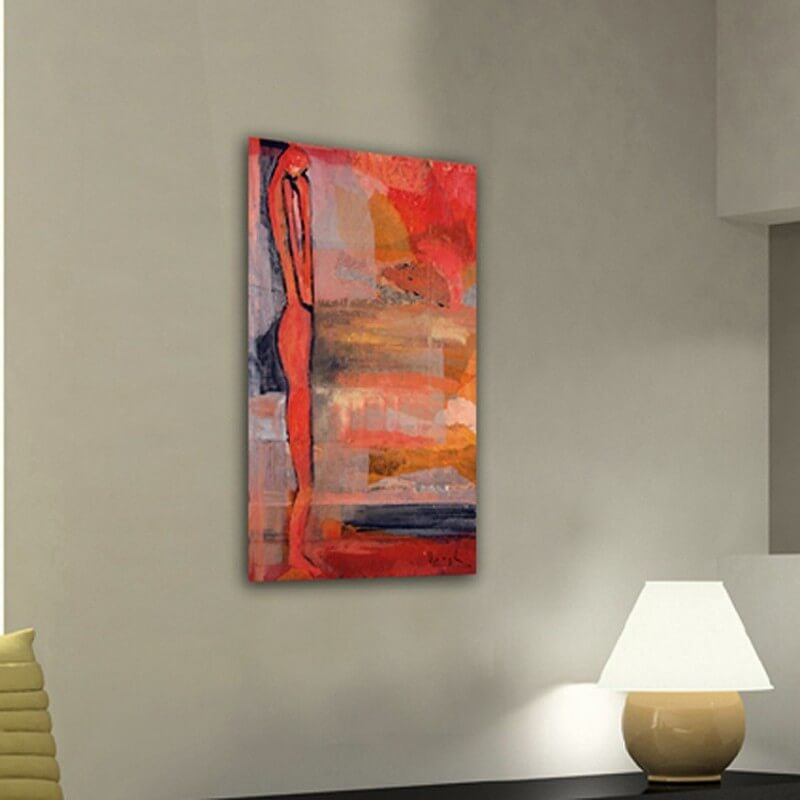 Figurative painting to feeling lonely