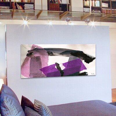 Abstract painting tenacity