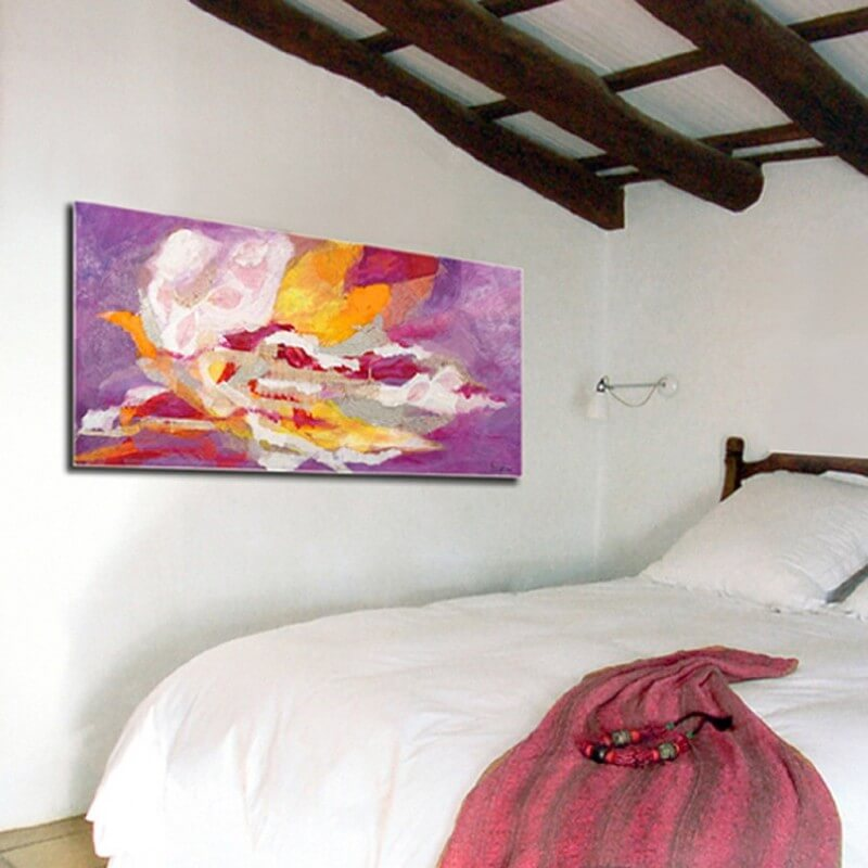 cuadros modernos abstractos. pasión
