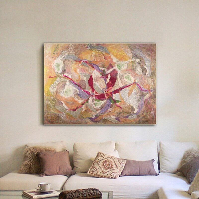 quadre abstracte univers personal
