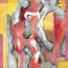 cuadros modernos abstracto huellas del viento