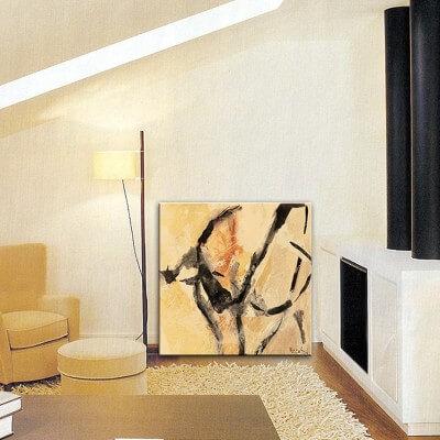 cuadros modernos abstractos. el sueño