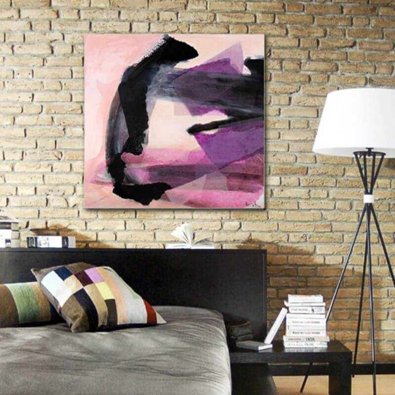 Abstract painting convincing