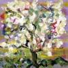 Tableau fleurs amandier en fleur