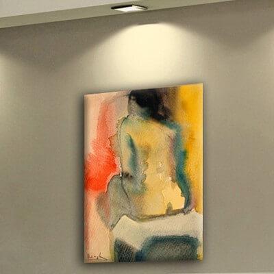cuadros modernos figurativo  esperar