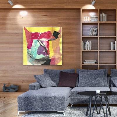 cuadros modernos abstractos-abstracción