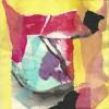 Quadre abstracte esquinçament