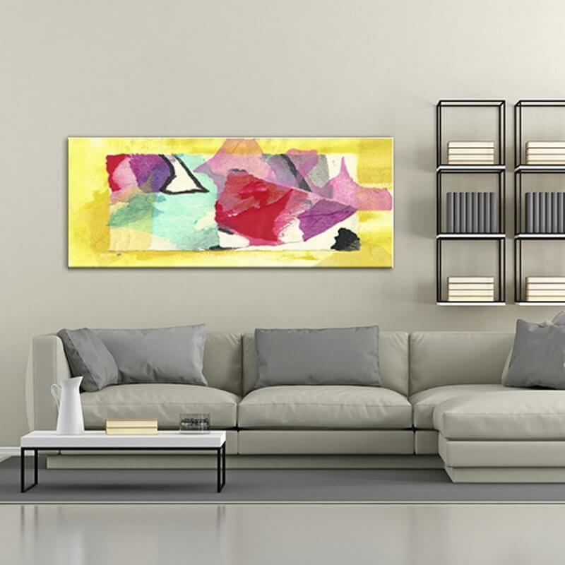 cuadros modernos abstractos para el salón-síntesis