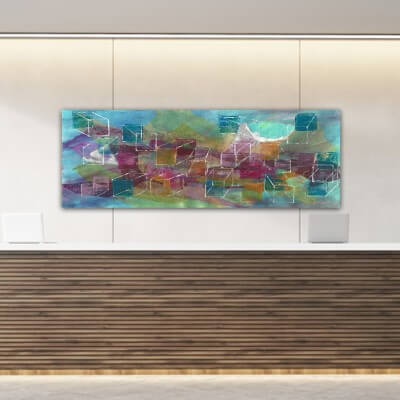 cuadros modernos abstractos-universo en construcción