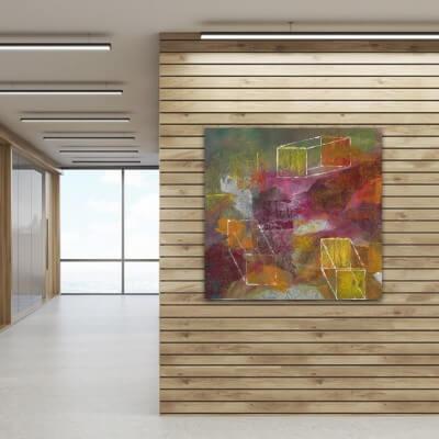 cuadros modernos abstractos-identidades contrapuestas