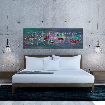cuadros modernos abstracto estructura y dimensión