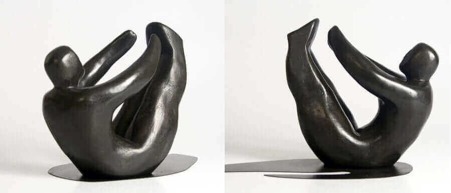 Escultures modernes de bronze