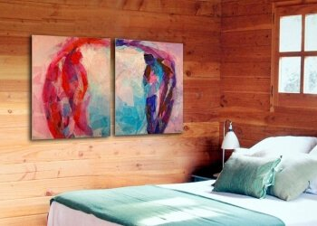 How big should be the painting I buy?